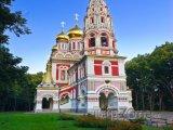 Chrám ve městě Shipka