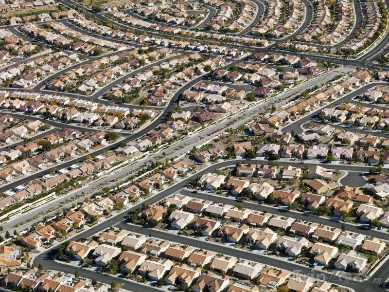 Fotka, Foto Domy na předměstí (Las Vegas, USA)