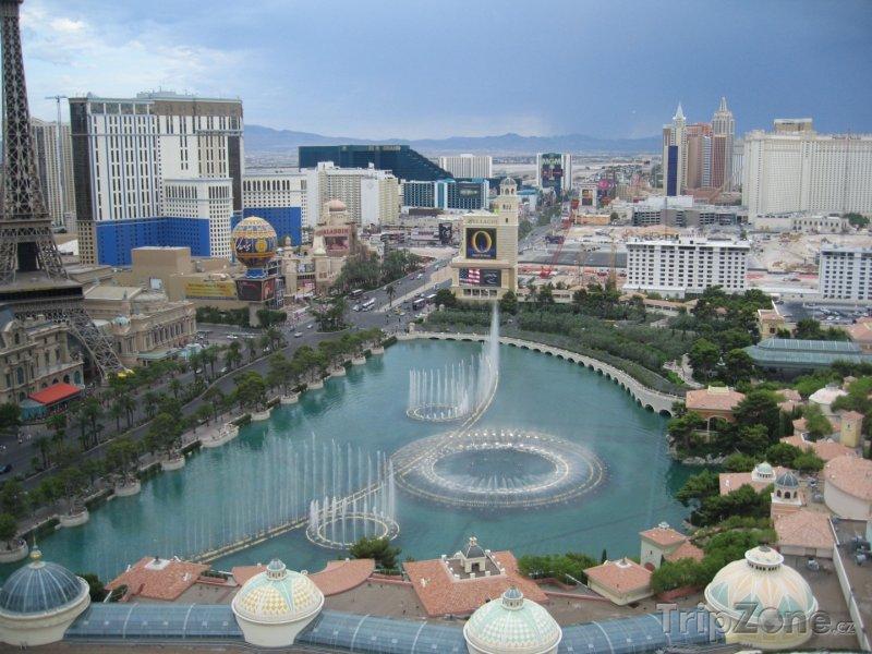 Fotka, Foto Fontána před Casinem Bellagio (Las Vegas, USA)
