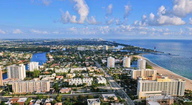 Fotka, Foto Fort Lauderdale panorama (Fort Lauderdale, USA)