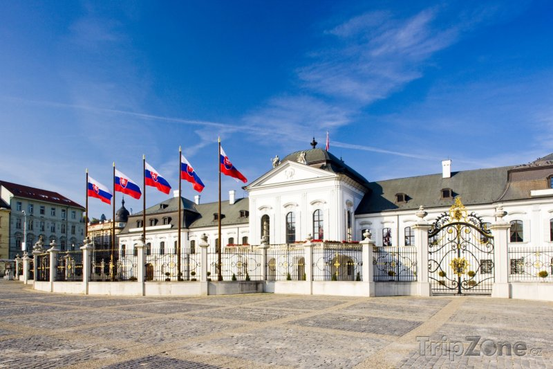Fotka, Foto Grasalkovičův palác (Bratislava, Slovensko)