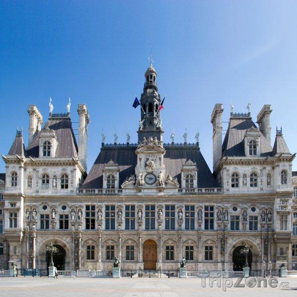 Fotka, Foto Hôtel de ville de Paris (Paříž, Francie)