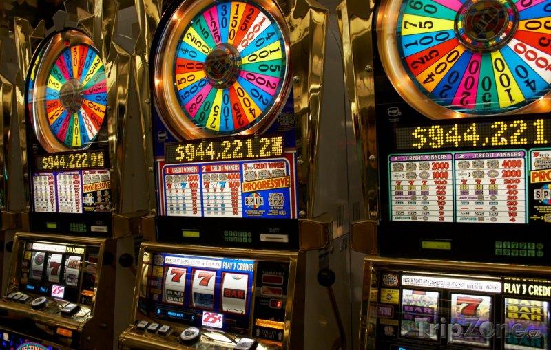 Fotka, Foto Hrací automaty (Las Vegas, USA)