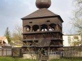 Hronsek, zvonice dřevěního artikulárního kostela