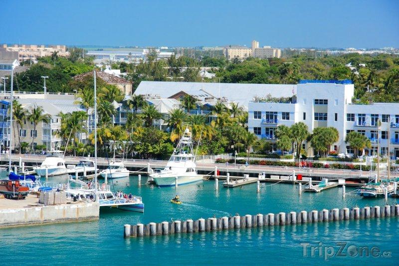 Fotka, Foto Jachty a čluny v přístavu (Key West, USA)