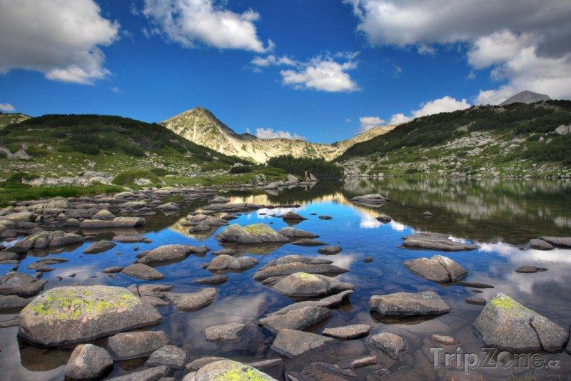 Fotka, Foto Jezero Zabecko v pohoří Pirin (Bulharsko)