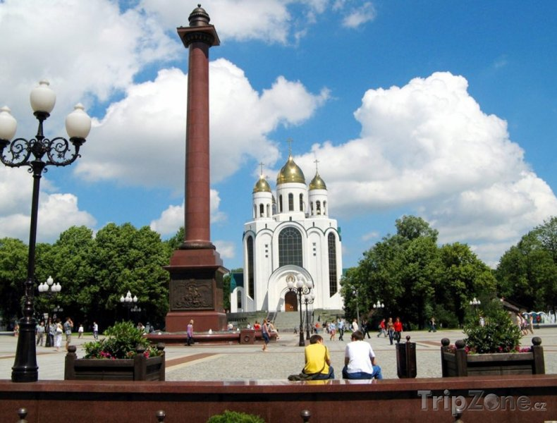 Fotka, Foto Kaliningrad, chrám Krista Spasitele