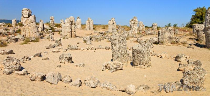 Fotka, Foto Kamenný kruh Přání v přírodní rezervaci (Bulharsko)