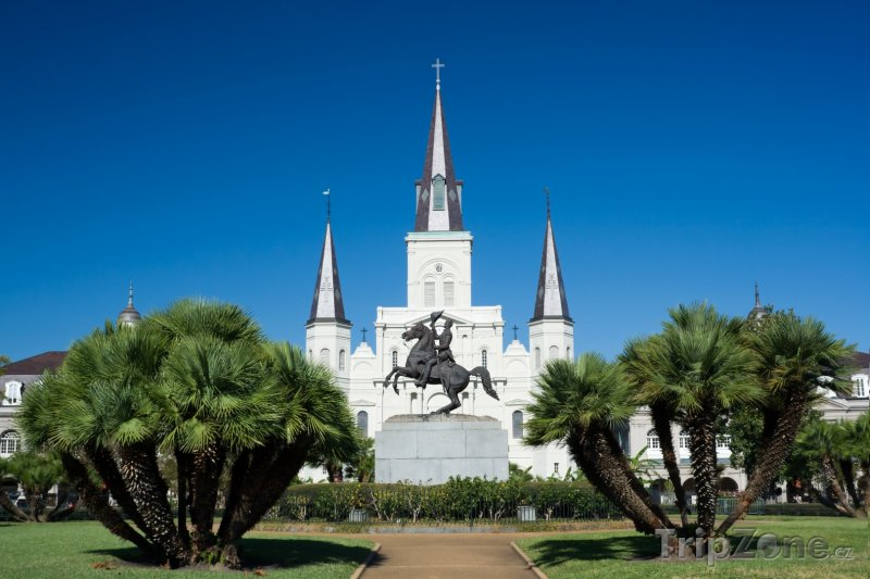Fotka, Foto Katedrála svatého Ludvíka (New Orleans, USA)