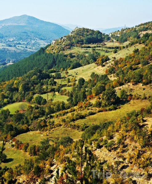 Fotka, Foto Krajina v pohoří Rodopy (Bulharsko)