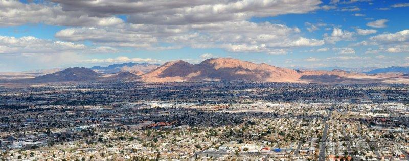 Fotka, Foto Las Vegas panorama (Las Vegas, USA)