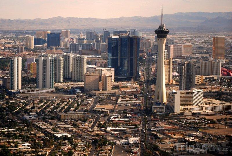 Fotka, Foto Las Vegas Strip panorama (Las Vegas, USA)