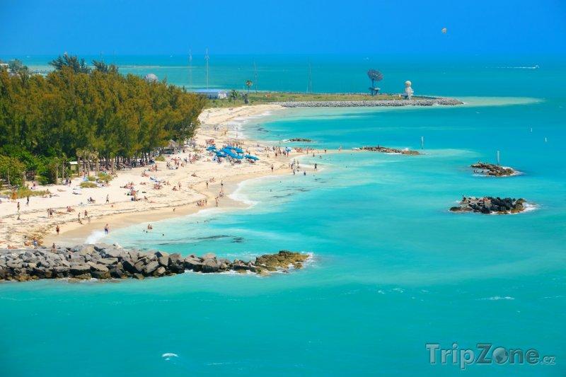 Fotka, Foto Lidé na pláži (Key West, USA)