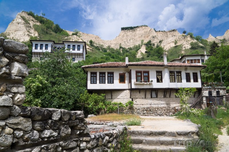 Fotka, Foto Městečko Melnik, Kordopulovův dům (Bulharsko)