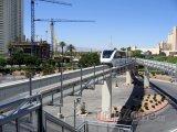 Monorail v centru města