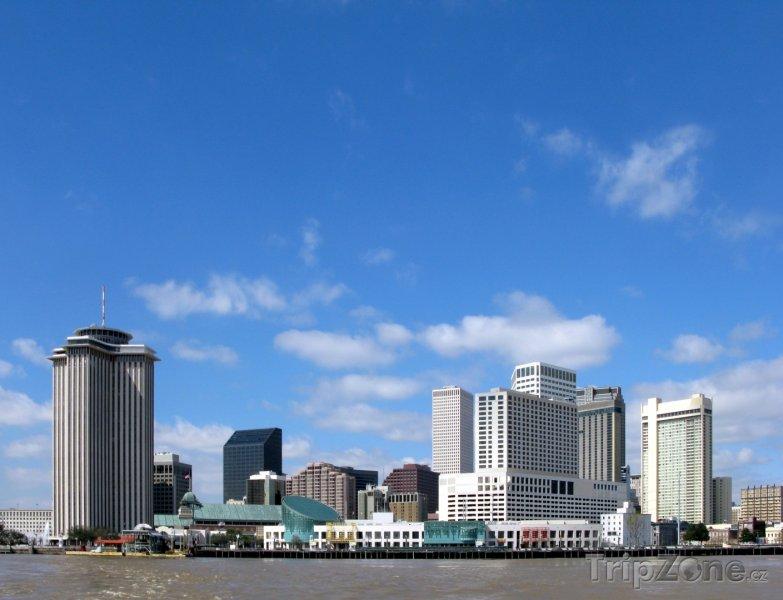 Fotka, Foto Mrakodrapy v centru města (New Orleans, USA)