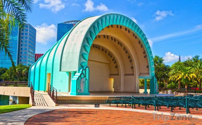 Fotka, Foto Oceola Park, amfiteátr (Orlando, USA)