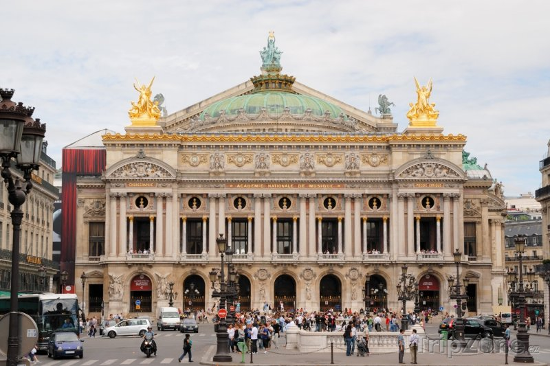 Fotka, Foto Opéra Garnier (Paříž, Francie)