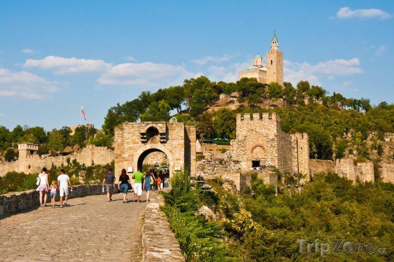 Fotka, Foto Pevnost Tsarevets ve městě Veliko Turnovo (Bulharsko)