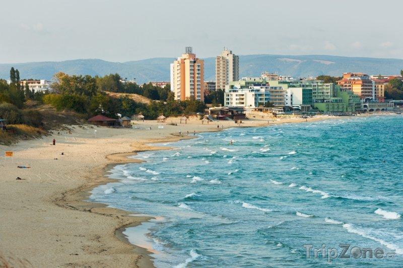 Fotka, Foto Pláž v Nesebaru (Bulharsko)