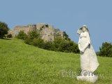 Pohled na hrad Devín