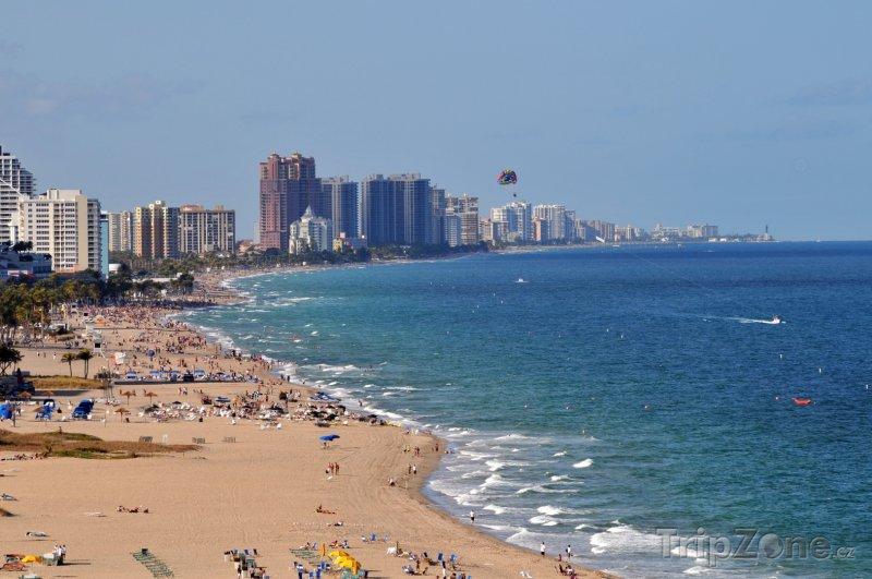 Fotka, Foto Pohled na pláž (Fort Lauderdale, USA)