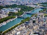 Pohled na Seinu z Eiffelovy věže