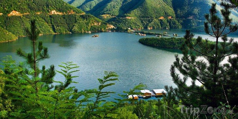 Fotka, Foto Přehrada na řece Vacha (Bulharsko)