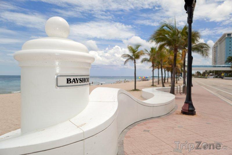 Fotka, Foto Promenáda u pláže (Fort Lauderdale, USA)