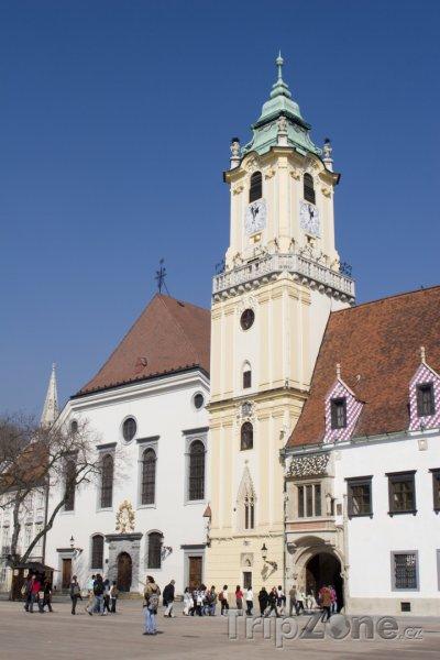Fotka, Foto Radnice (Bratislava, Slovensko)