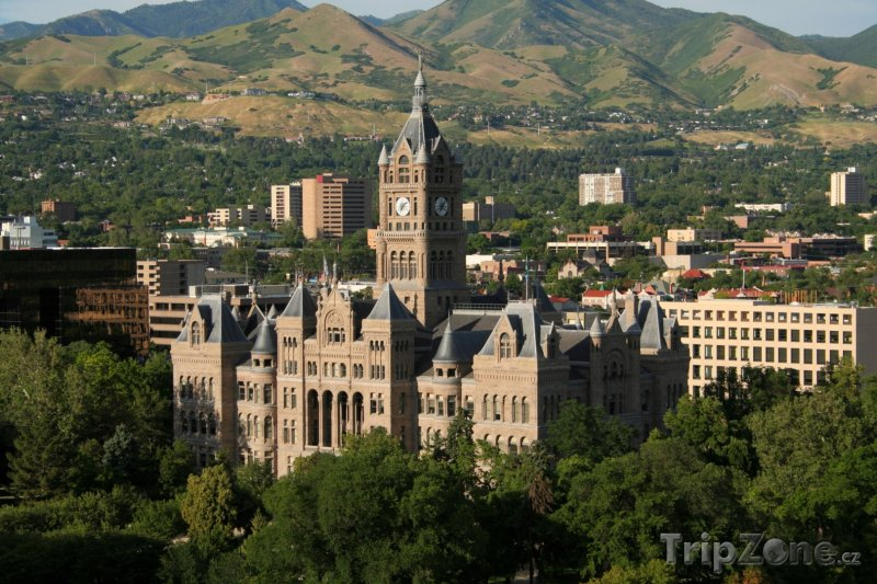 Fotka, Foto Salt Lake City and County Building (Salt Lake City, USA)