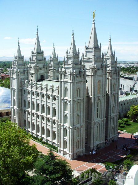 Fotka, Foto Salt Lake Temple (Salt Lake City, USA)