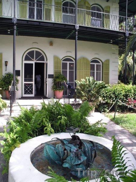 Fotka, Foto Slavný dům Ernesta Hemingwaye (Key West, USA)