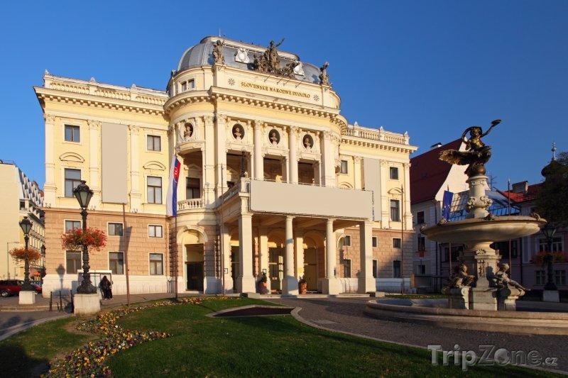Fotka, Foto Slovenské národní divadlo (Bratislava, Slovensko)