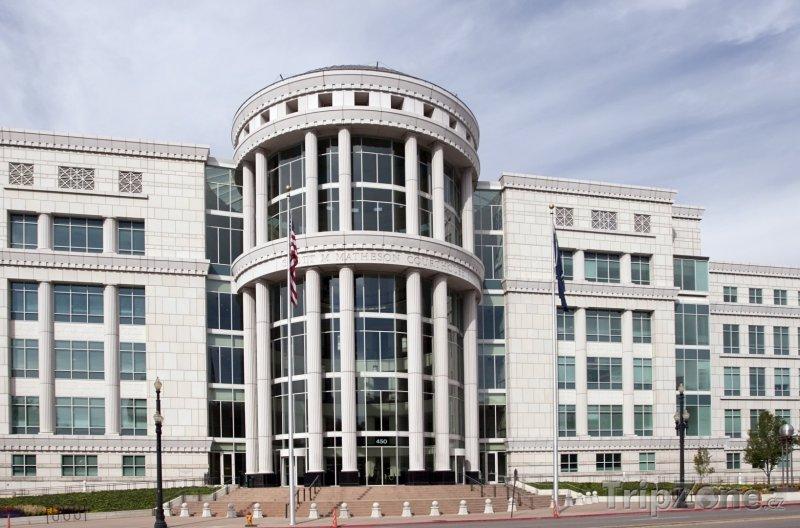 Fotka, Foto Soudní budova Scotta Mathesona (Salt Lake City, USA)