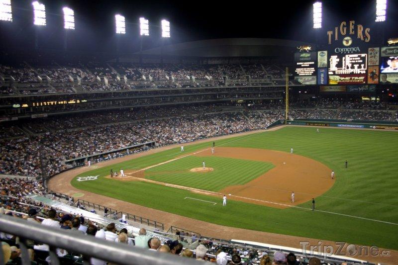 Fotka, Foto Stadion Comerica Park (Detroit, USA)