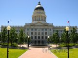 Utah State Capitol na Capitol Hill