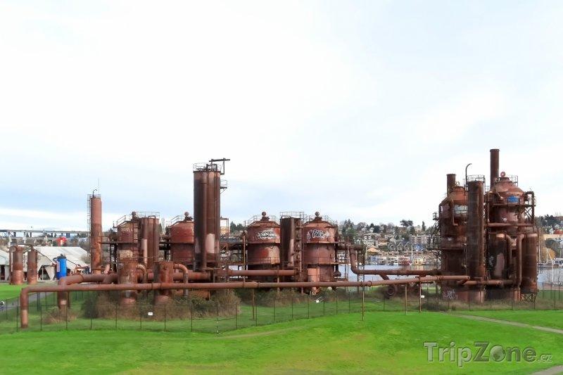 Fotka, Foto Veřejný Gas Works Park (Seattle, USA)