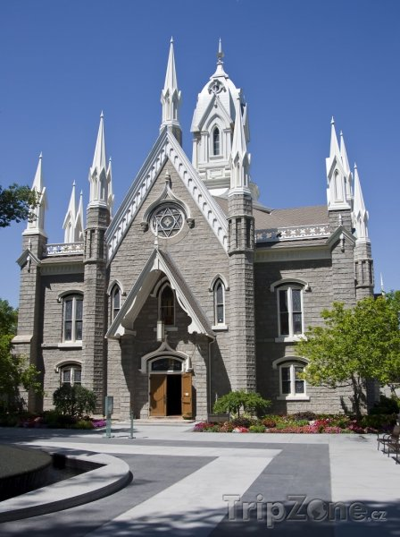 Fotka, Foto Viktoriánsko-gotická aula (Salt Lake City, USA)