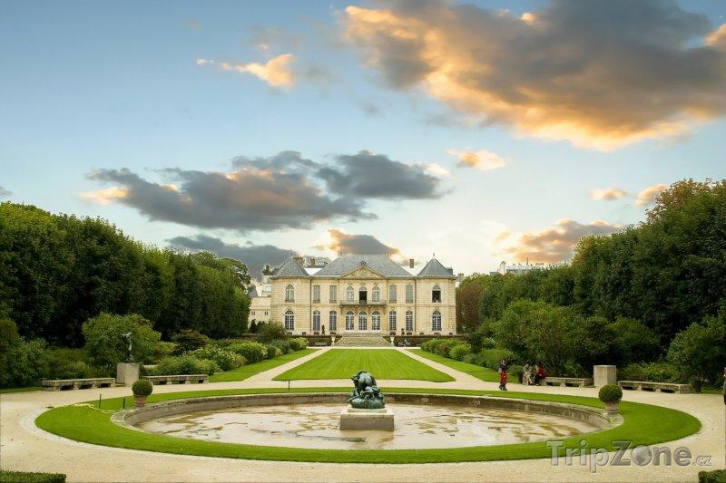 Fotka, Foto Zahrada u Musée Rodin (Paříž, Francie)