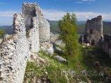 Zřícenina hradu Gýmeš u Jelenece