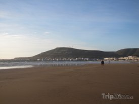 Agadir, pláž