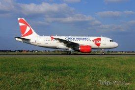 Airbus A319 aerolinek ČSA, foto. csa.cz