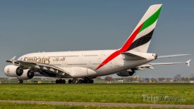 Airbus A380 aerolinek Emirates, foto: facebook.com
