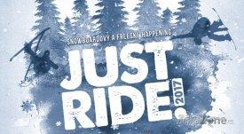 Akce Just Ride! se koná 21. ledna ve Skiareálu Lipno