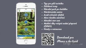Aplikace pro návštěvníky Bavorského lesa
