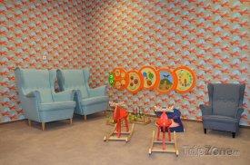 Baby room na letišti v Praze