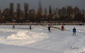 Běžkařský okruh na Vypichu, foto: facebook.com