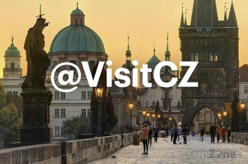 Cílem akce je propagace instagramového profilu VisitCZ