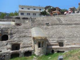 Durrës, římský amfiteátr z přelomu 1. a 2. století n.l.